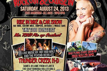 rockabilly rock out & cruise in @ thunder creek harley-davidson at