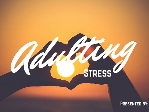 """Image: The Chattery Presents """"Adulting Summer Camp: Let's Talk About Stress, Baby"""""""